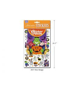 Halloween Stickers & Album