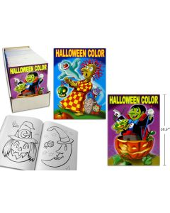 Halloween Super Jumbo Coloring Book ~ 160 pages