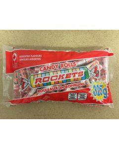 Halloween Rockets Candy Rolls ~ 325gram bag