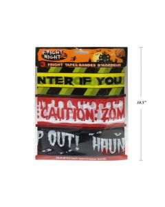 Halloween Assorted Fright Tape ~ 20'