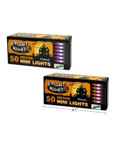 Halloween Mini Indoor Light Set ~ 50 per string