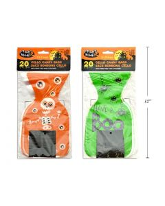 Halloween Die-Cut Cello Candy ~ 20 per pack