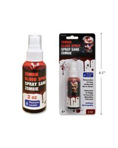 Halloween Zombie Red Blood Spray ~ 2oz bottle