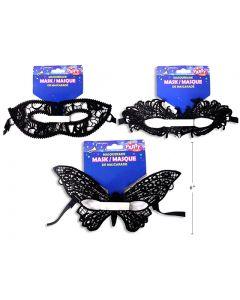 Halloween Black Lace Masquareade Mask