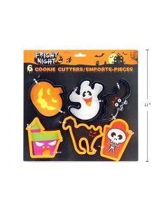 Halloween Cookie Cutters ~ 6 per pack