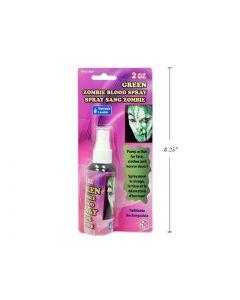 Halloween Zombie Green Blood Spray ~ 2oz bottle