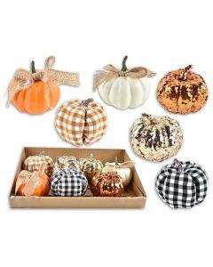 """Harvest Pumpkin Assortment ~ 3.5"""""""