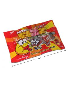Halloween Lotsa Fizz Hard Candy with Sour Fizzy Powder FIlling ~ 225gram bag