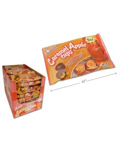 Halloween Palmer Caramel Apple Cups ~ 142gram bag