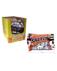Halloween Palmer Double Crisp Skulls ~ 142gram bag
