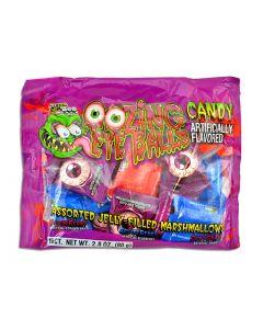 Halloween Jelly Filled Marshmallow Eyeballs ~ 16/pk