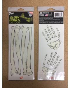 Halloween Glow-in-the-Dark Hand/Arm Tattoos
