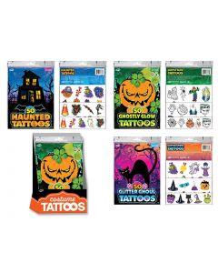 Halloween Kid's Tattoos ~ 50 per pack