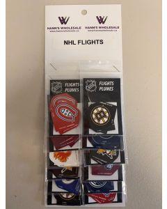 NHL Assorted Flights ~ 12 per card