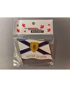Nova Scotia Wavy Flag Magnet