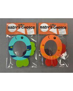 Baby's Choice Foam Bath Fish Mirror