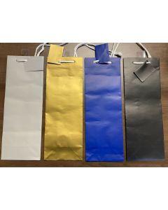 Bottle Gift Bag ~ Solid Matte Colors
