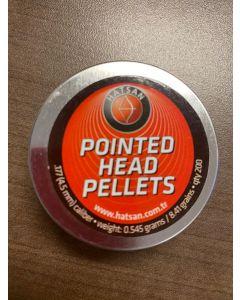 Hatsan 177cal Pointed Pellets ~ 200/tin