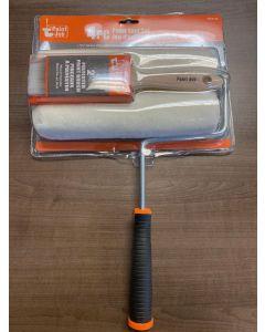 "Paint Kit - 9-1/2"" Frame + 2 Rollers + 1 Paint Brush"