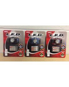 Dorcy LED Headlight w/3 color lights