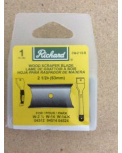 Replacement Blade for Richard Wood Scraper W-2-1/2