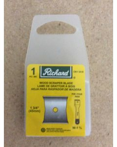 Replacement Blade for Richard Wood Scraper W-1-3/4