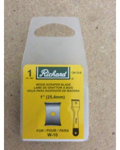 Replacement Blade for Richard Wood Scraper W-10