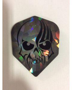 Dartworld Broken Glass ~ Skull Face