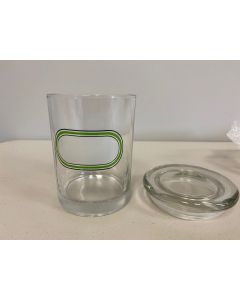 Air Tight Glass Storage Jars - 1oz ~ Assorted Patterns