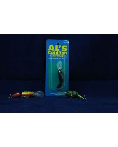 Al's Goldfish Wiggle Wog - 1/4oz ~ Yellow Perch