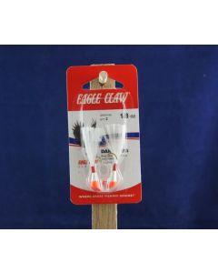 Eagle Claw Shad Darts - 1/8oz ~ Red / White
