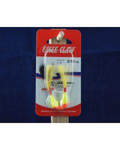 Eagle Claw Shad Darts - 3/16oz ~ Red / Yellow
