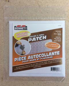 """Bennett Drywall Patch ~ 4"""" x 4"""""""