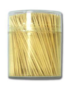 Wooden Toothpicks w/Holder ~ 500 per pack