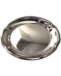 """Stainless Steel Serving Platter ~ 17-1/4"""" / 44cm"""