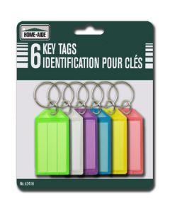 Key Tags ~ 6 per pack
