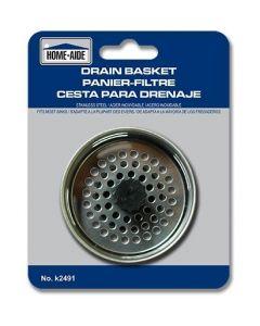 Drain Basket ~ Stainless Steel