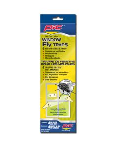 PIC Window Fly Traps ~ 4 per pack