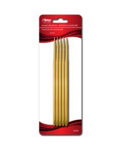 Wooden Manicure Sticks ~ 5 per pack