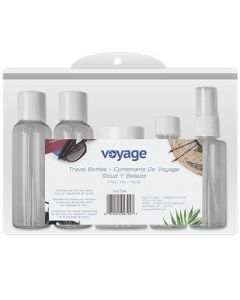 Plastic Travel Bottles - Assorted ~ 7 per pack