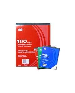 Writing Tablet - Lined ~ 50 sheets ~ 12 TABLETS PER PACK