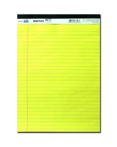 """Legal Pad - 8.5"""" x 11.75"""" - 100 sheets ~ SOLD 12 PADS PER SLEEVE"""