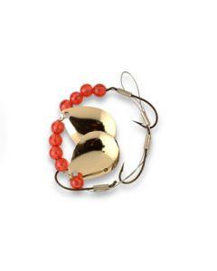 Lucky Strike Worm Crawler Harness ~ Gold
