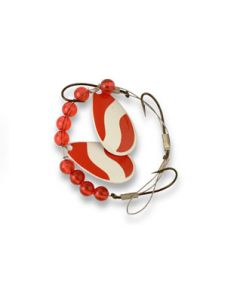 Lucky Strike Worm Crawler Harness ~ Red & White