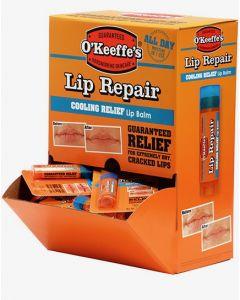 O'Keeffe's Lip Repair Cooling Relief Lip Balm - 4.2gr stick ~ 24 per gravity display