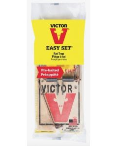 Victor Easy Set Pre-Baited Wood Rat Trap ~ 1 per pack