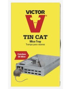 Victor Tin Cat Mice Trap ~ catches 30 mice