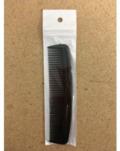 Men's Black Plastic Comb ~ 1 per pack