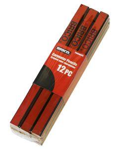 Carpenter Pencils ~ 12/pc