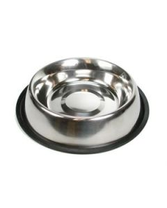 Stainless Steel Round Feeding Dish ~ 32oz